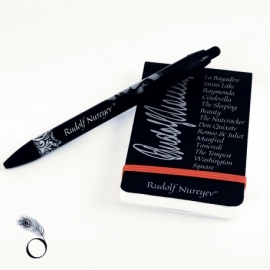 Dance stationery collectibles - Pen and Notebook for dancers
