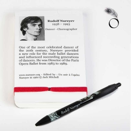 Pen and notebook Rudolf Nureyev collection - Un soir a l'opéra