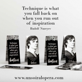 Bookmark Rudolf Nureyev collection - Un soir a l'opéra