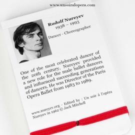 Carnet titres des ballets de Rudolf Noureev - Un Soir à l'Opéra