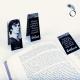 Rudolf Nureyev magnetic Bookmark - quote - Un soir a l'opéra