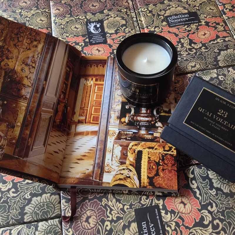Bougie d'intérieur parfumée Un Soir à l'Opéra - 23 quai Voltaire