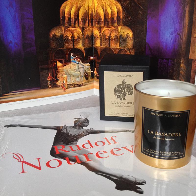 La Bayadere ballet candle - Un soir à l'Opéra