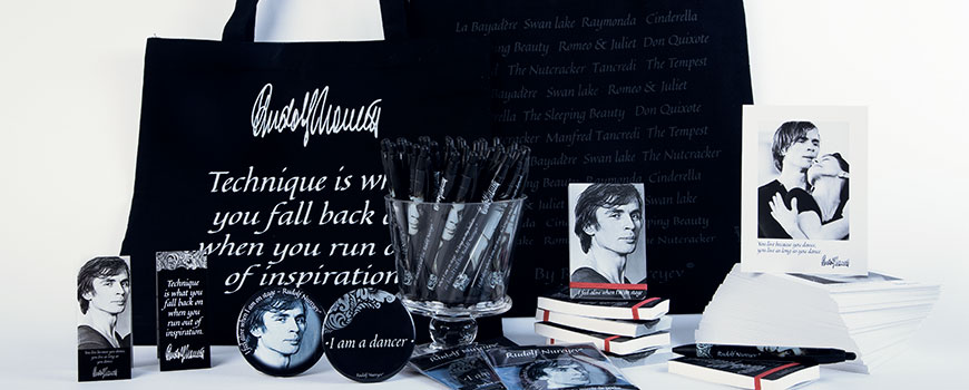 Rudolf Nureyev memory products