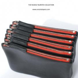 Porte-monnaie en cuir noir Armand - Maroquinerie pour homme