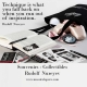 Rudolf Nureyev collectibles - Dance stationery - Un soir à l'Opéra