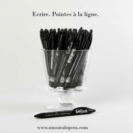 Pen with a portrait of Rudolf Nureyev - Un soir a l'opéra