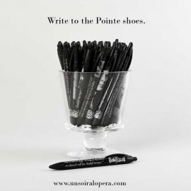 Pen with Rudolf Nureyev's famous quotes - Un soir a l'opéra