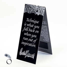 Dance-quote Bookmark - Rudolf Nureyev
