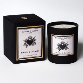 Scented candle Romeo and Juliet