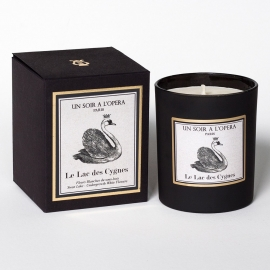 Scented candle The Swan Lake