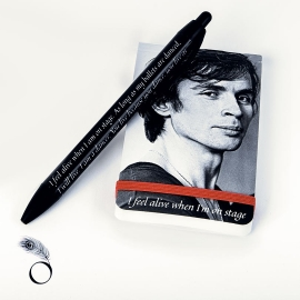 Stationery Gifts for Dancers - Ballet notebook and pen for dancers