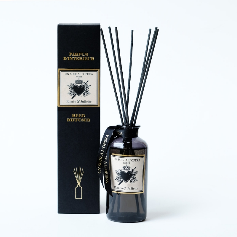 Home reed diffuser Romeo and Juliet