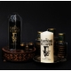 Tattooed Opera pillar candles The Phantom of the Opera