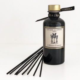 Infusion of spices and tea - Home reed diffuser - ELIXIR OF LOVE