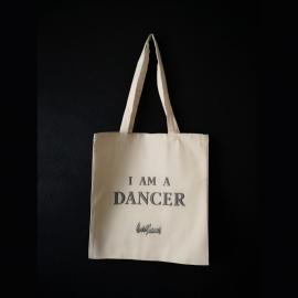 "Tote Bag ""I'm a dancer"""