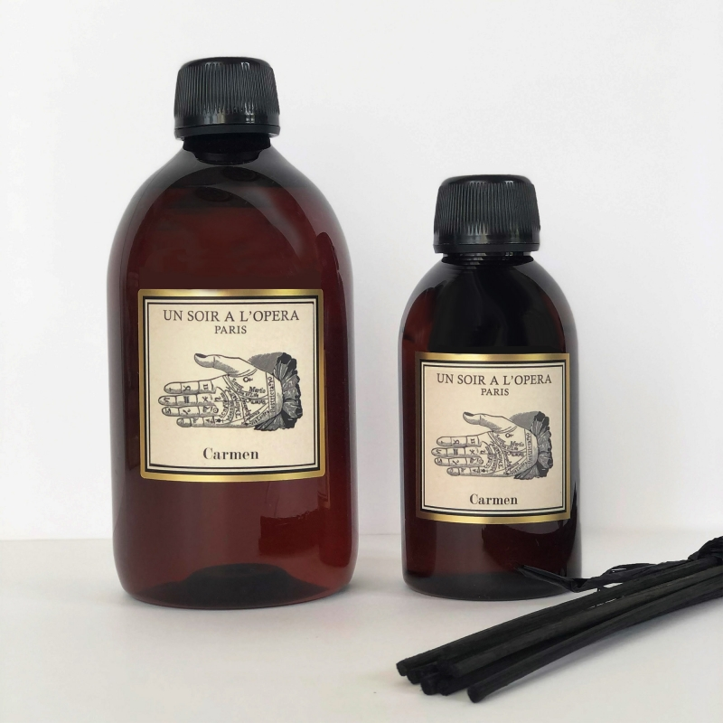 CARMEN - Refill for home reed diffusers