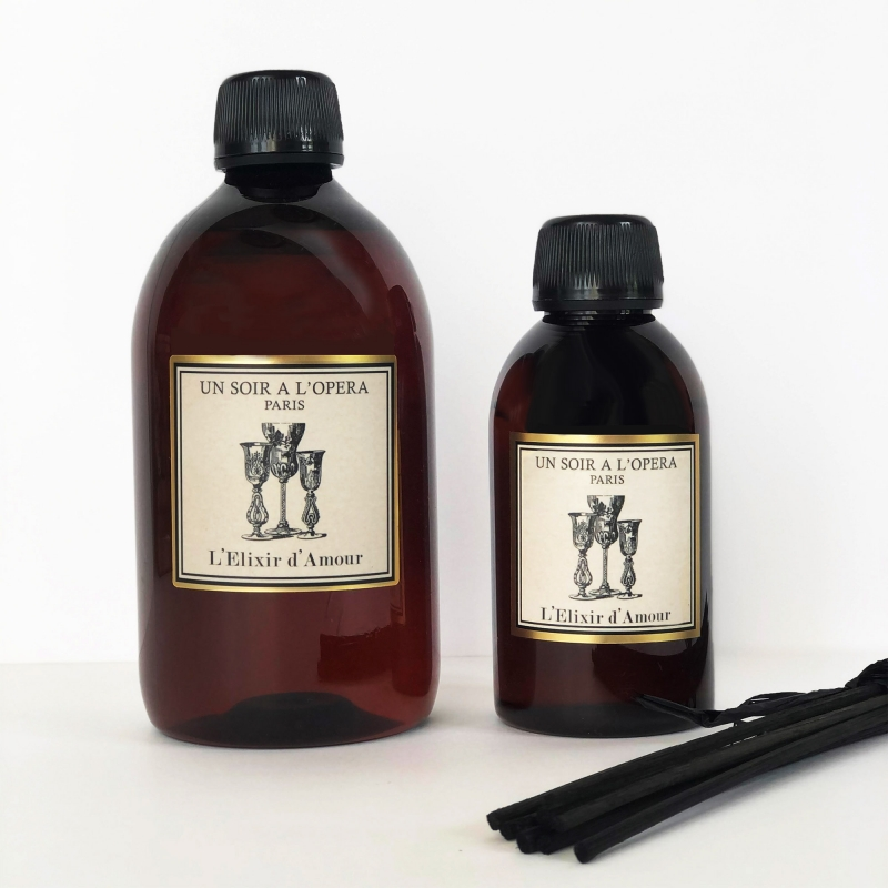 ELIXIR OF LOVE - Refill for home reed diffusers