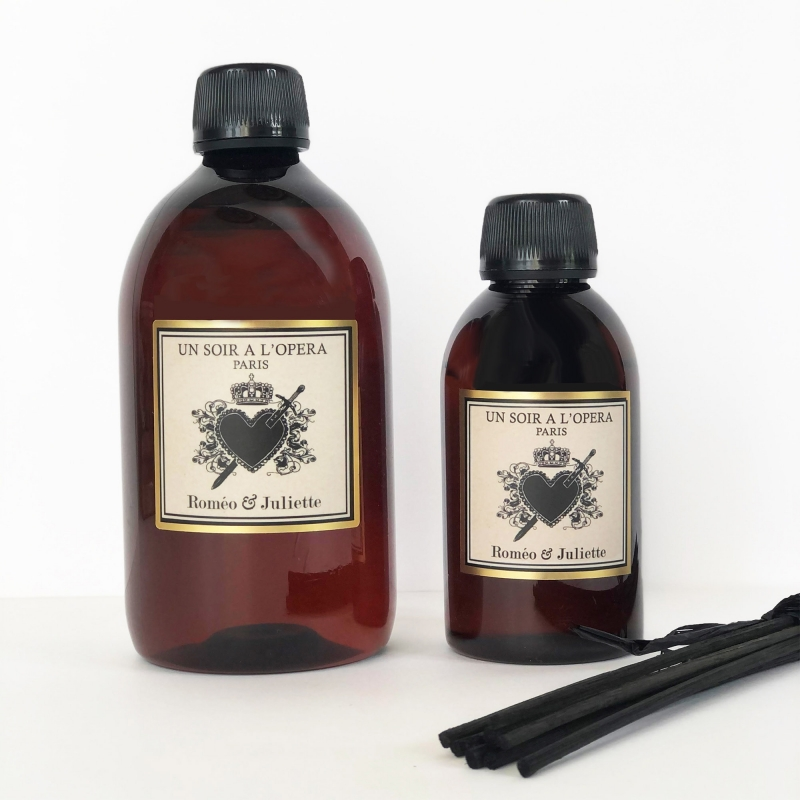 ROMEO AND JULIET - Refill for home reed diffusers