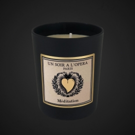 Franckincense Resin and Benzoin - Scented candle - MEDITATION