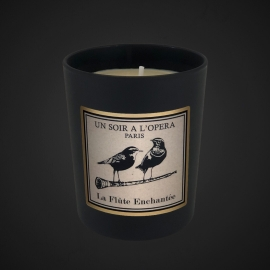 THE MAGIC FLUTE - Cedar wood and Rose candle