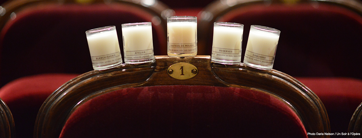 LA COMEDIE-FRANCAISE - CANDLE COLLECTION
