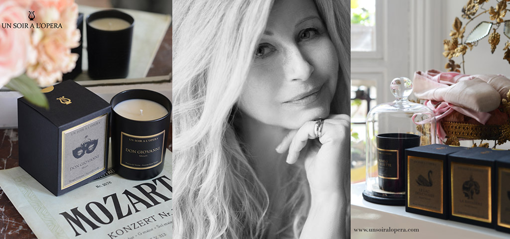 scented candles - french luxury brand - un soir a l'opera