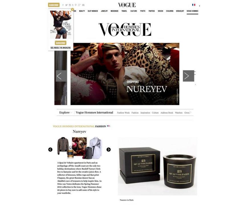Vogue Homme - Un Soir à l'Opéra